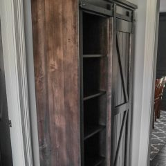 Rustic Elements Furniture Xavier Custom Hutch