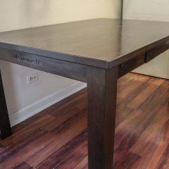 Rustic Elements Furniture Four-Leg Table Design