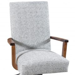 Rustic Elements Furniture - Zeigler Arm Desk Chair