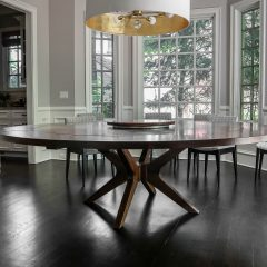 Rustic Elements Furniture - Brewer Round Table