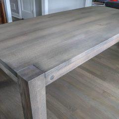 Rustic Elements Furniture Flush Leg Table in Prado