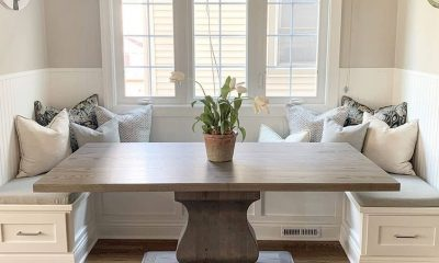 Rustic Elements Furniture - Built-In Table