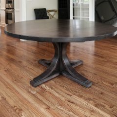 Rustic Elements Furniture - Round Custom Crescent Base