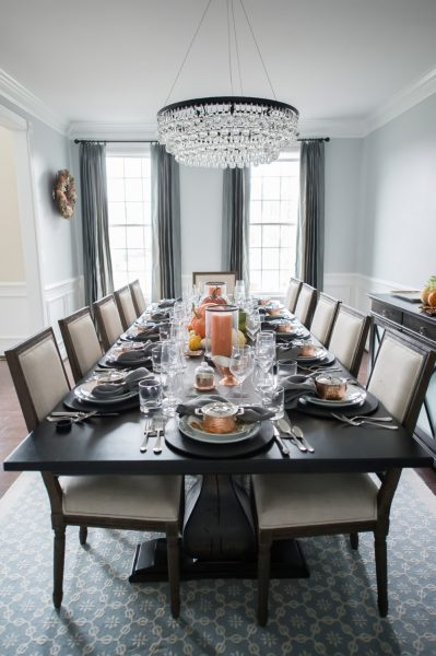 Rustic Elements Furniture - Thanksgiving Table