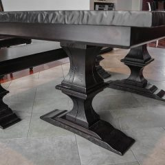 Rustic Elements Furniture - Franklin Pedestal Table