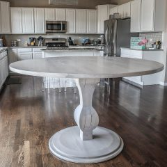 Rustic Elements Furniture - Edison Pedestal Round