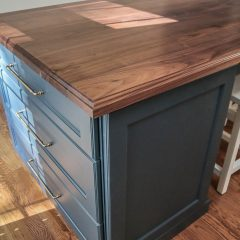 Rustic Elements Furniture - Walnut Island Top