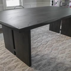 Rustic Elements Furniture - Dana Pedestal Table