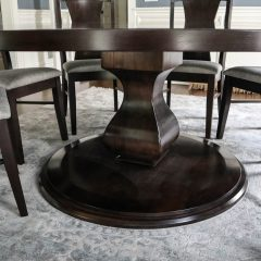 Rustic Elements - Round Belly Pedestal