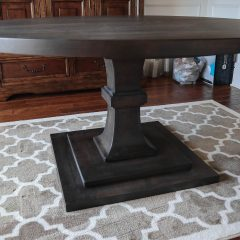 Rustic Elements Furniture - Custom Round Pedestal