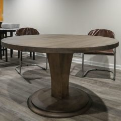 Rustic Elements Furniture - Round Meredith Pedestal Table