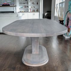 Rustic Elements Furniture - Stretched Meredith Racetrack Oval