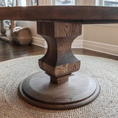 Rustic Elements Furniture - Round Anchor Pedestal