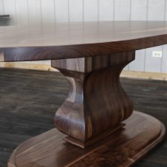Rustic Elements Furniture - Oval Stretched Belly