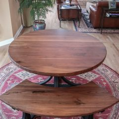 Rustic Elements Furniture - Round Table