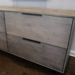 Rustic Elements Furniture - File Storage Cabinet