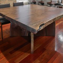 Rustic Elements Furniture - Bookmatched slabs