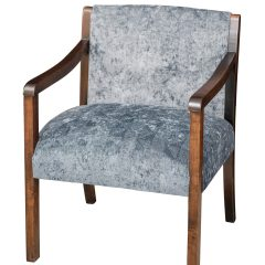 Rustic Elements Furniture - Bank Arm Chair
