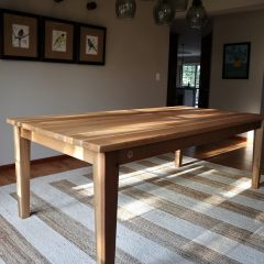 Rustic Elements Furniture - Tapered Leg Table