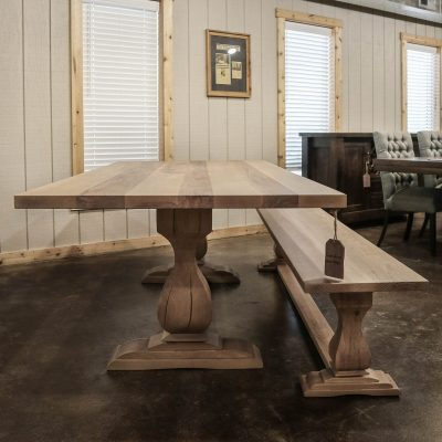 Rustic Elements Furniture - Belly Pedestal