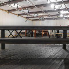 Rustic Elements Furniture - Ash Flush Leg Table