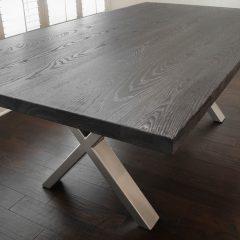Rustic Elements Furniture - Metal X Base