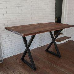 Rustic Elements Furniture - Metal Bridge Base