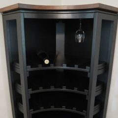 Rustic Elements Furniture - Wine Rack