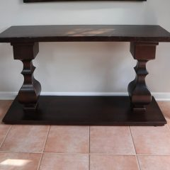 Rustic Elements Furniture - Hickory Console Table