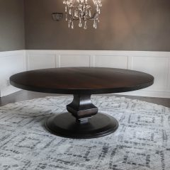 Rustic Elements Furniture - Extra Large Anchor Pedestal Table