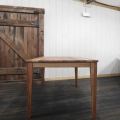 Rustic Elements Furniture - Quarter Sawn African Mahogany Table