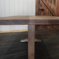 Rustic Elements Furniture - Wedgepost Table