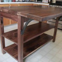 Rustic Elements Furniture - Four-Leg Island