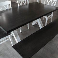Rustic Elements Furniture - Wood X Base