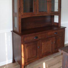 Rustic Elements Furniture - Breckenridge Hutch