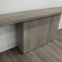 Rustic Elements Furniture - Block Base Console Table