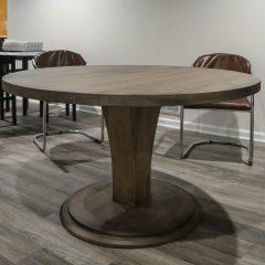Round Meredith Pedestal Table