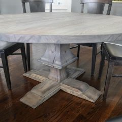 Round Franklin Pedestal Table
