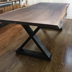 Connected-X Metal Base Table
