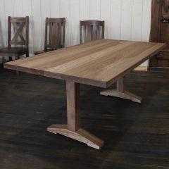Wedgepost Pedestal Table