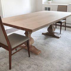 Rustic Elements Furniture - Tuscan Pedestal Table