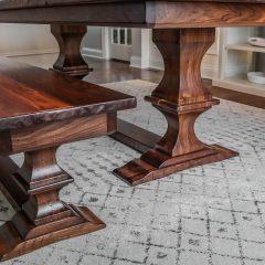 Pedestal Style Bench
