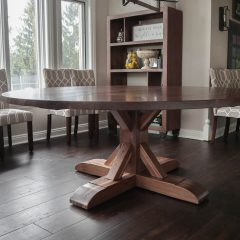 Round Tamara Pedestal Table