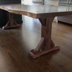 Rustic Elements Furniture - Craftsman with Slab