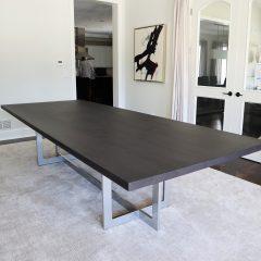 Reflection Metal Base Table