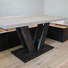 Rustic Elements Furniture - Marks Pedestal