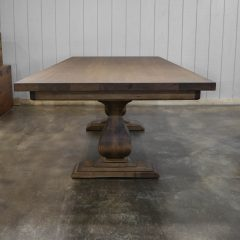 Rustic Elements Furniture - Belly Pedestal Table